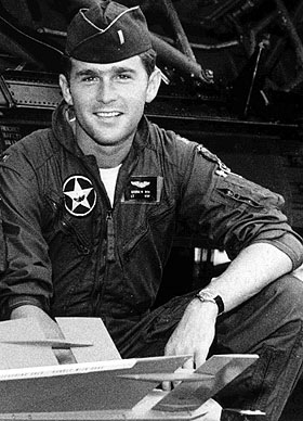 HS381     George W. Bush in the Texas Air National Guard, 1968 - 1973.